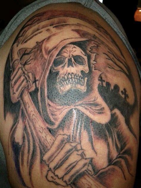 santa muerte tattoo meaning grim reaper my grim reaper reaper