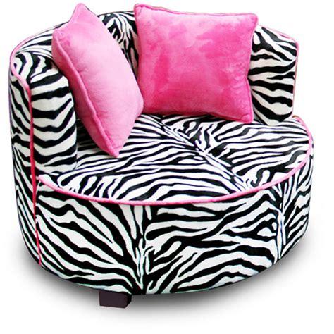 Zebra Print Bean Bag Chair Walmart by Redondo Tween Minky Chair Zebra Walmart
