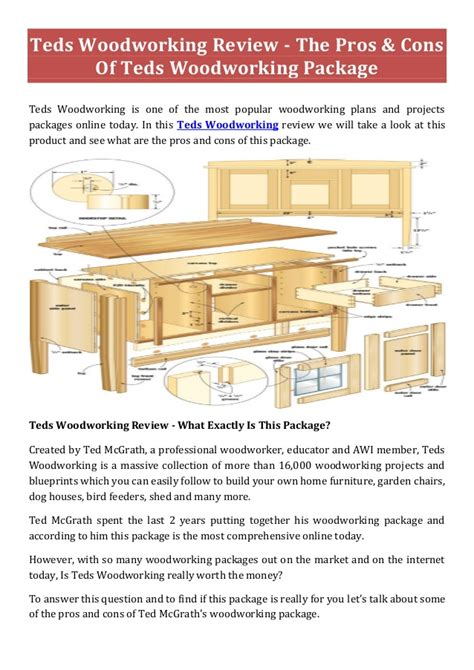 teds woodworking plans teds woodworking 16 000 woodworking plans save time money