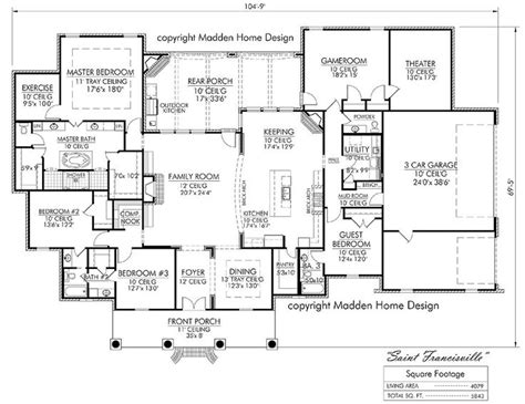 french acadian style house plans 17 best ideas about acadian house plans on pinterest