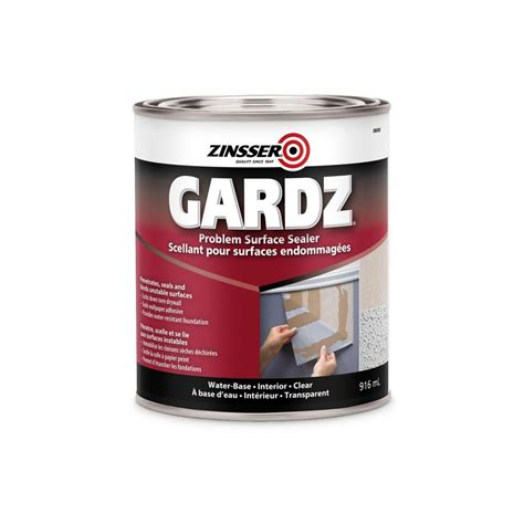 zinsser zinsser gardz primer sealer 916ml the home depot