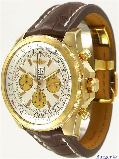 breitling bentley limited edition bentley 6 75 limited edition gold breitling
