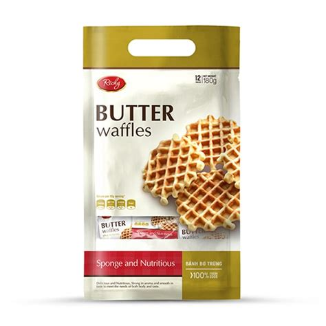 Richy Egg Butter Waffle snack for diabetics made in offered wholesale price