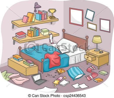 Teenage Rooms by Eps Vector Of Messy Room Illustration Of A Disorganized