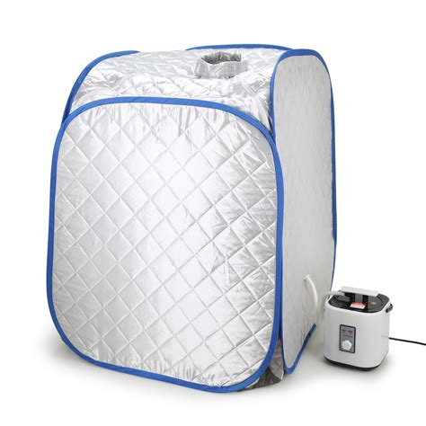 Spa Portable Steam Sauna New 1 portable folding steam sauna indoor tent cabin loss weight slimming skin spa new ebay