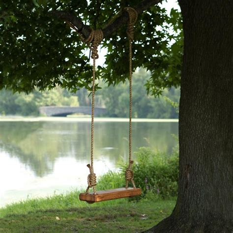 how to attach a swing to a tree branch fun and creative outdoor swing ideas page 11 of 12