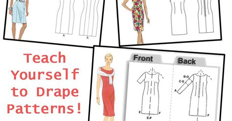 teach yourself pattern cutting pintucks teach yourself to drape patterns how to get started
