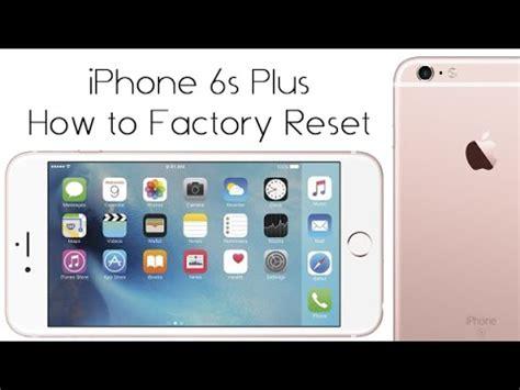 iphone     reset   factory settings