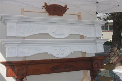 Floating Fireplace Mantel Shelf by Floating Mantel Shelves Indoor Fireplaces New York By The Woodworks