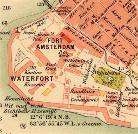 willemstad netherlands antilles map curacao maps otrabanda and punda map quotes