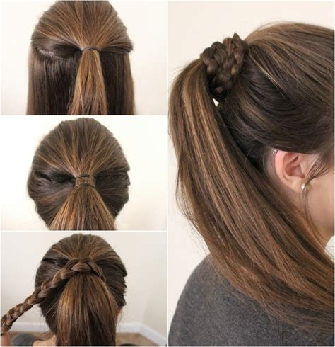 New Hairstyle For Step By Step by New Easy Hair Style Step By Step Hairstyle Picture Magz