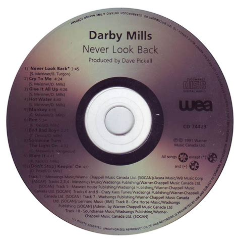 Kaos Never Look Back darby mills and the unsung heroes never look back 1991