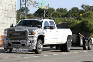2017 gmc chevy silverado 3500 hd spied road