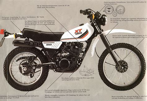 Yamaha Leichtes Motorrad by Stammbaum Xt 250