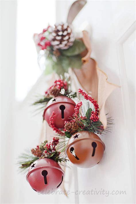 christmas bells door decoration celebrate creativity