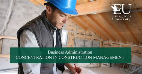 Construction Management Mba Programs by Mba In Construction Management Everglades