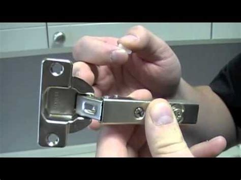 How To Make A Kitchen Cabinet hettich restrictor clip installation video full youtube