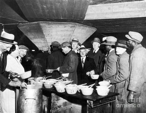 The Great Depression Soup Kitchen by Soup Kitchen 1931 By Granger
