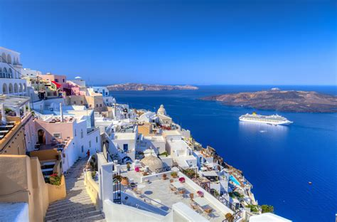desktop themes greece image gallery santorini wallpaper