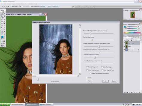photoshop cs3 green screen tutorial green screen wizard green screen software product