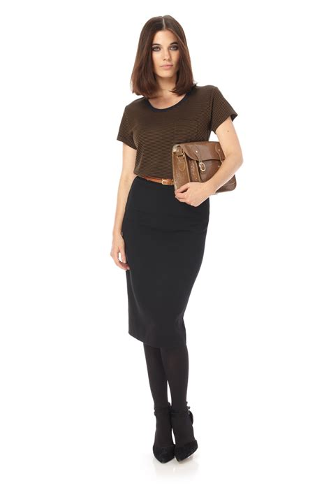feather ruth pencil skirt skirts shorts