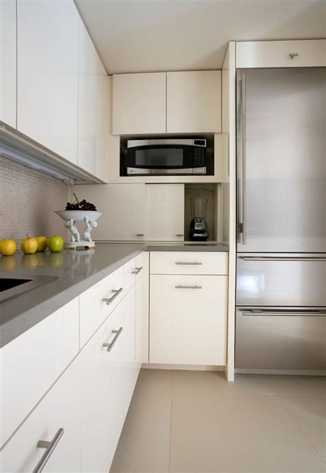 appliance garage kitchen design idea store your kitchen appliances in an