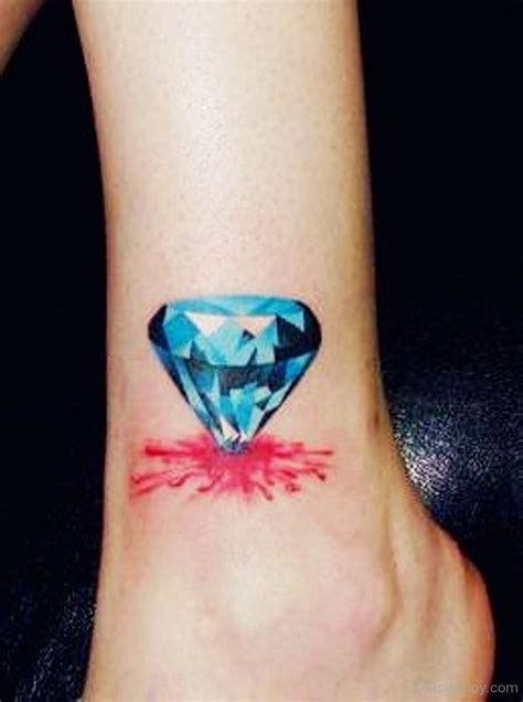 blue diamond tattoo tattoos designs pictures page 12