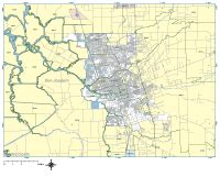 Stockton Zip Code Map by Stockton Digital Vector Maps Download Editable
