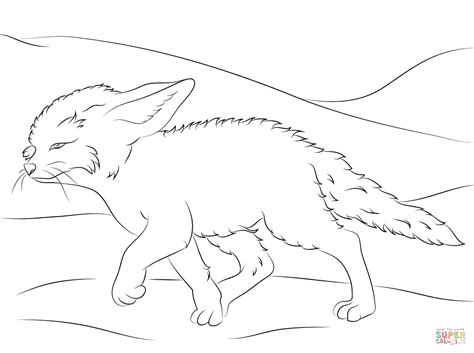 coloring page of a fox face cute fox coloring pages