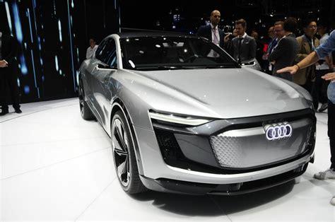 Audi Sportback E Tron by Shanghai 2017 Audi E Tron Sportback Gtspirit