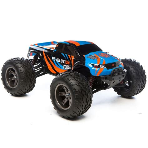 revolution rtr forge  wd monster truck rc car action