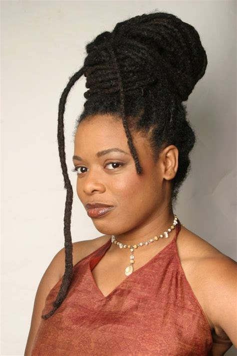 pictures of hair locks with thick hair thick locs styled black women natural hairstyles