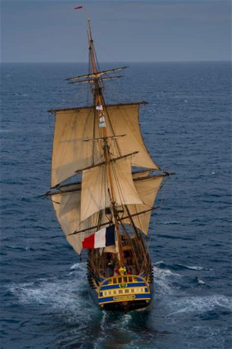 hermione bateau francais quel est le programme de navigation de l hermione