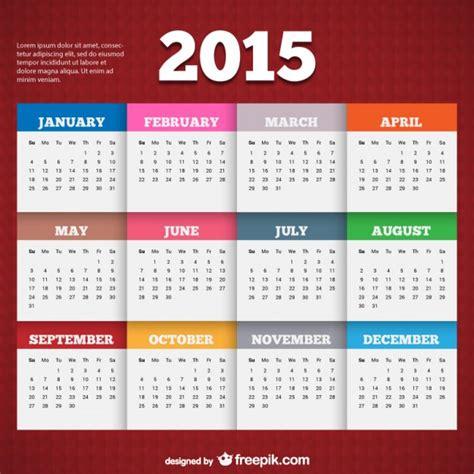 Can Calendrier 2015 Calendrier 2015 Mod 232 Le T 233 L 233 Charger Des Vecteurs Gratuitement