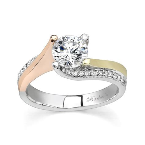 color engagement rings barkev s tri color engagement ring 7171lt