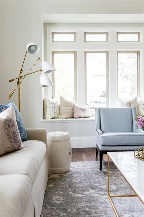 Living Room - glam and style in the confines of a roomier living room