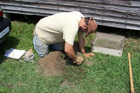 pattern testing archaeology poquoson museum preserving the history and heritage of
