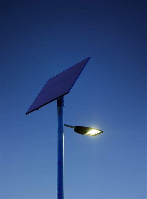 Philips Develops Efficient Solar Powered Led Street Lighting Phillips Solar Lights