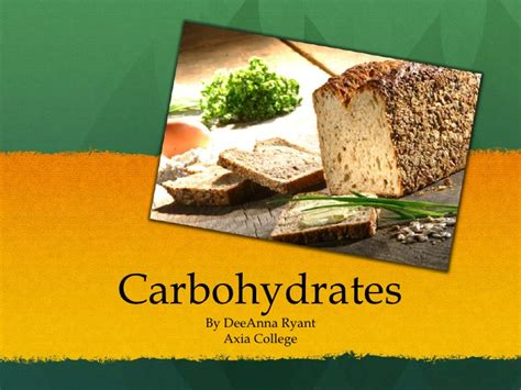 carbohydrates loading carbohydrates
