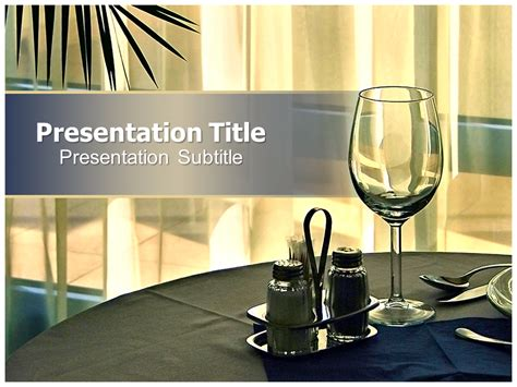 restaurant powerpoint templates powerpoint presentation