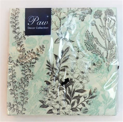 Decorative Papers For Crafting - 20 pck vintage decorative paper napkins decoupage craft