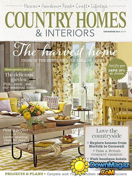 country home decorating magazine country homes interiors september 2014 187 pdf magazines magazines commumity