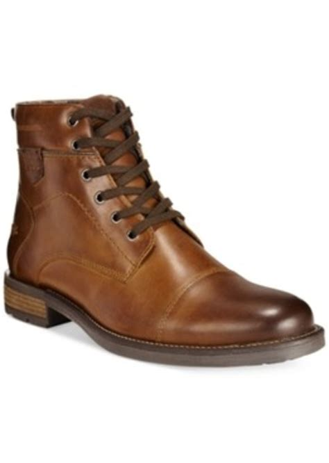 toe boots mens alfani alfani cap toe boots only at macy s s