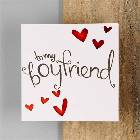 cards for boyfriend to my boyfriend card pinteres