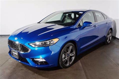 new 2018 ford fusion sport sedan in bank 18 2036