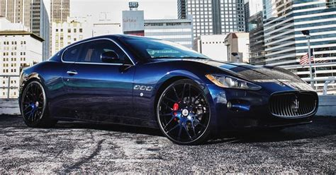 custom maserati granturismo maserati granturismo colored rims customized maserati