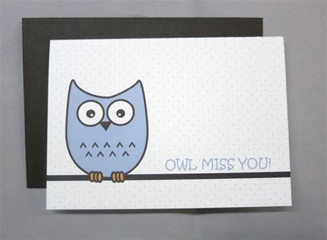 printable cards miss you 5 best images of missing you owl tags printable i will