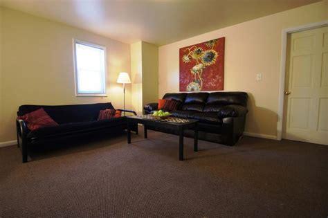 student apartment living room home design plan