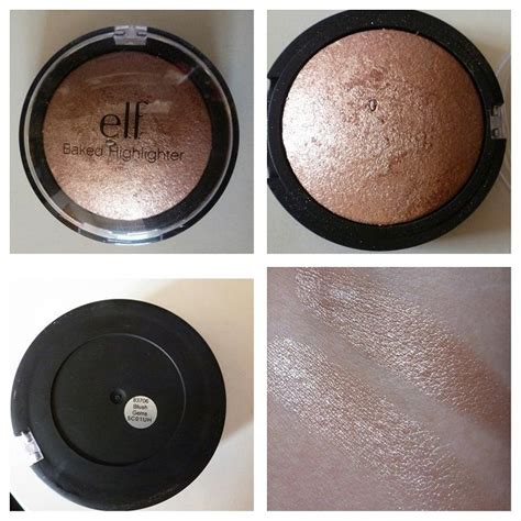 E L F Studio Baked Highlighter studio baked highlighters e l f cosmetics baked