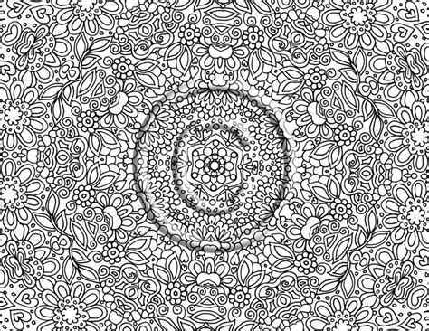 coloring pages detailed coloring pages for adults to